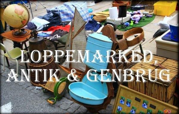 Loppemarked, Antik & Genbrug