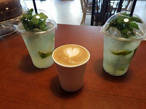 Kaffe og limonade