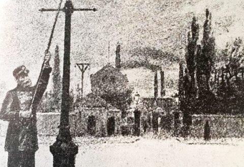 •Gadelys på gas anno 1857. Dét blev debuten for gas i København - og deraf navnet 'Københavns Belysningsvæsen'. Foto: HOFOR