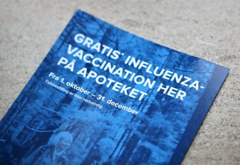 Husk influenzavaccination