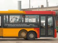 Pressefoto: Rådet for Sikker Trafik og reklamebureauet &Co i det københavnske gadebillede.