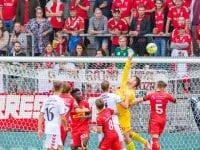 Superredning af Nicolai Larsen, FC Nordsjælland, kreditering: Boesenfoto.dk