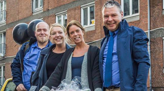 SuperBrugsen Nørrebrogade sælger hjemløse-poser