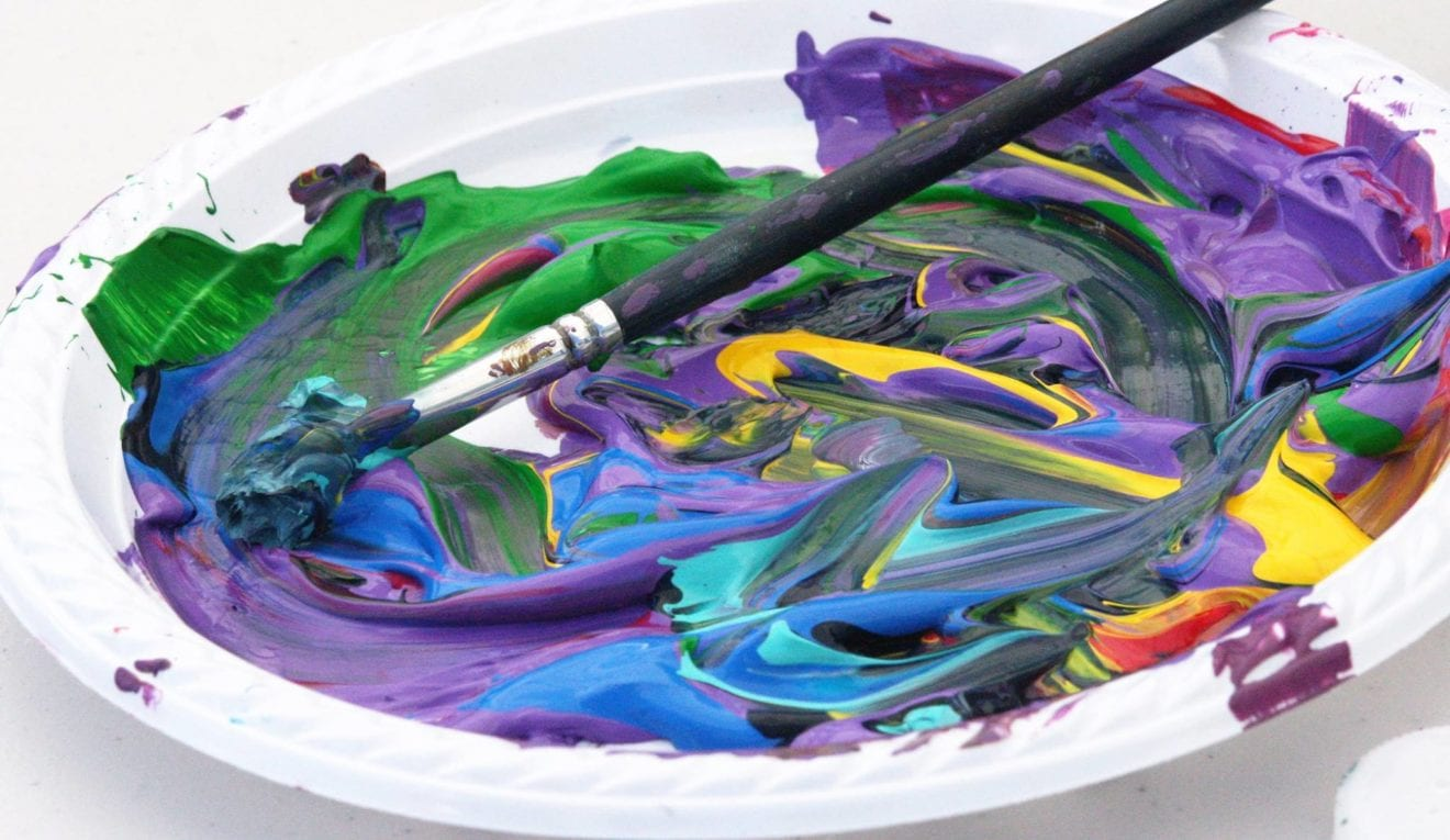 Fluid paint workshop