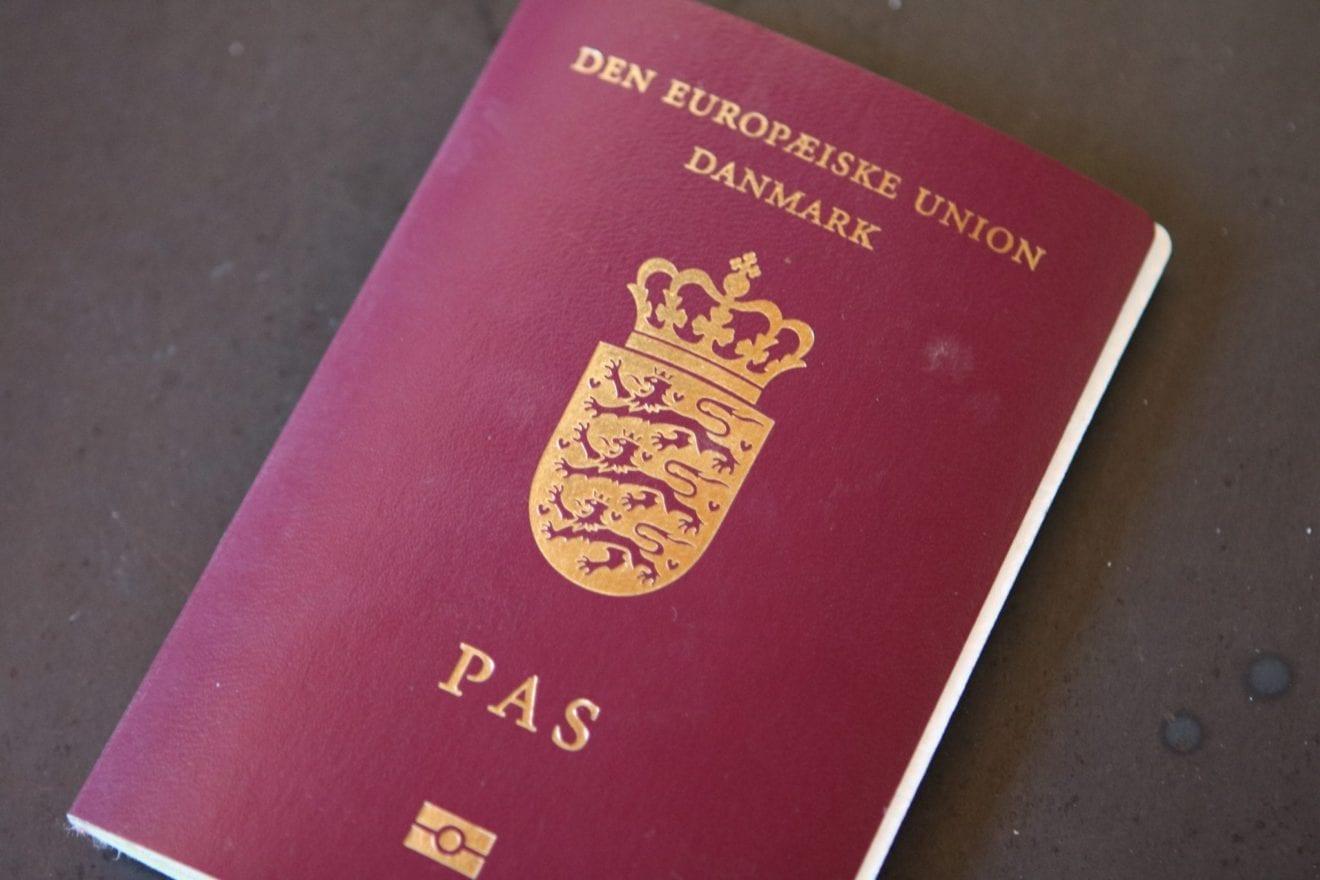 Til ansøgere om dansk statsborgerskab, som er optaget på en lov om indfødsrets meddelelse