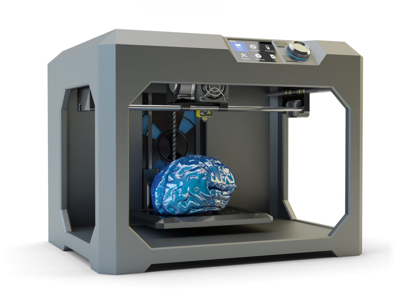 3D gennembrud: Nu kan alle printe en interaktiv model af hjernen