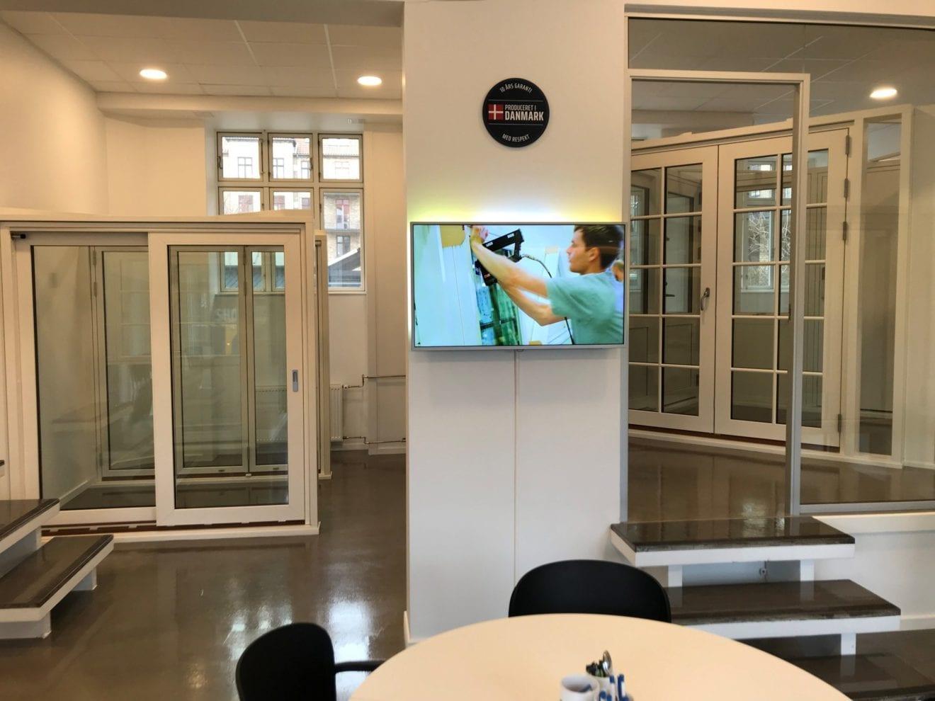 Nyt showroom åbner nu både ubemandet og digitalt