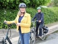 Seniorer og cykelhjelme, foto: RfST