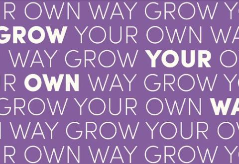 Grow your own Way, grafik Bloom Institute