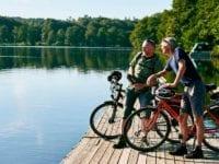 Cykelferie ved Søhøjlandet, foto: Friluftsrådet