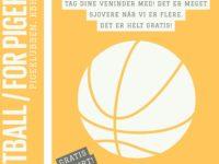 Gratis street basket træning for piger