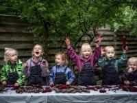 20.000 børn i daginstitutioner udfordrer rødbeden til 'Maddag 2020'