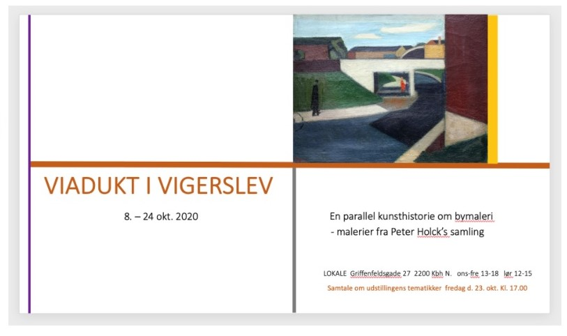 VIADUKT I VIGERSLEV - en parallel kunsthistorie om bymaleri