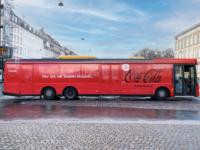 Coca Cola bussen på Nørrebro