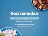 PR-Foto. Plakat: God ramadan