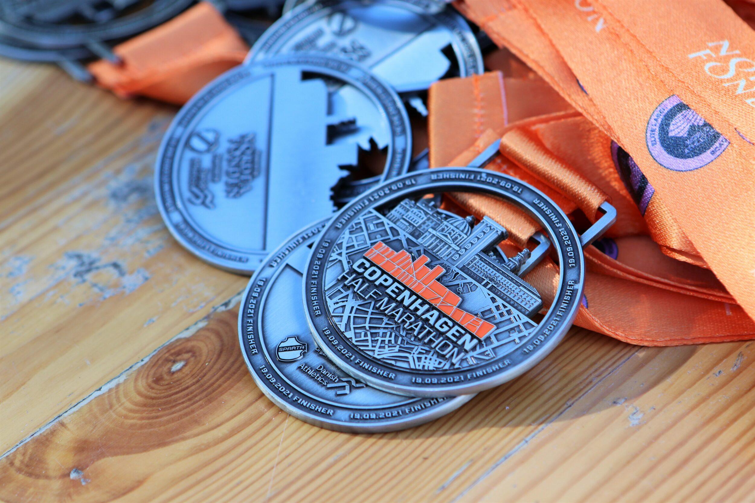 Copenhagen Half Marathon - se billederne